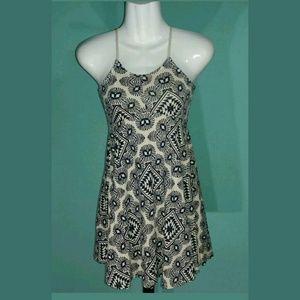 Old Navy Fit & Flare Cross-Back Dress